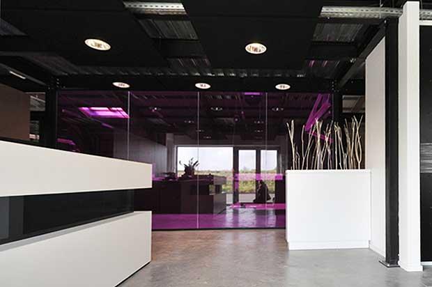 Bureaux et zone d accueil villeneuve d ascq architecte d 39 int rieur lille - Architecte d interieur lille ...